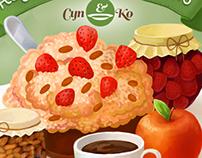 Posters for Суп&Ko restaurant