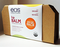 EOS Lip Balm Packaging