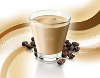 illy caffè. illy crema.