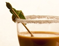 Food Styling - Cutting Chai Cocktail