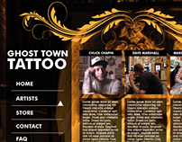 Ghost Town Tattoo Website