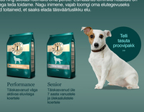 Real dog food campaign site