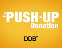 DDB° - The Push-Up Donation.