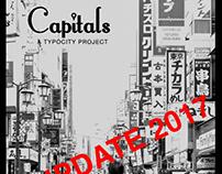Capitals // Tokyo font