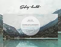 Safety heatlh Landing page