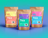 Hi, Tea - Brand Identity & Packaging