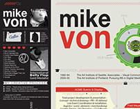 Michael Von: Resume 2013