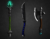 RPG Style Fantastic Weapons