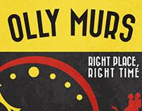 Olly Murs Poster Design