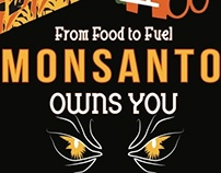 Vintage Anti-Monsanto Poster