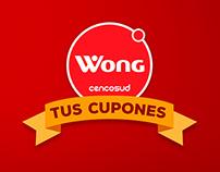 Cuponera Wong - Pantalla Touch