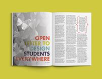 Design Magazine Publication