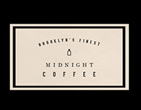 Midnight Coffee - Branding & Logo