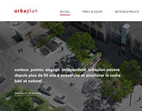 Urbaplan Website Redesign