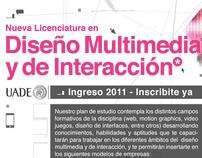 Lic. en Diseño Multimedia y de Interacción_UADE 2011