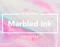 Marbled Ink Texture + Beautiful Gradients