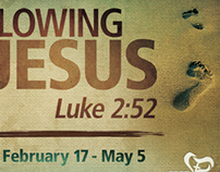 Church Message Series Design: Following Jesus