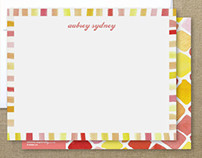 Personal Stationery 2012