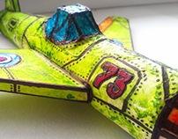 My little work. Aircraft.
