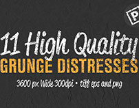 11 High Quality Grunge Distress Bundle