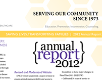 ANNUAL REPORT: EPIC Behavioral Healthcare