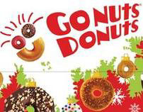 Go Nuts Donuts Christmas Box Design (2007)