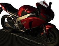 3D Modeling - Honda CBR1000RR