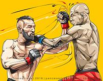 Conor McGregor Punch! | vectorArt