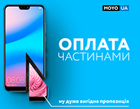 Web design for MOYO.ua