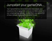 gamerDNA.com Jumpstart Wizard