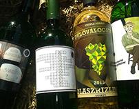 Unusual Wine Labels