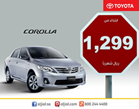 Toyota April 2013 offer