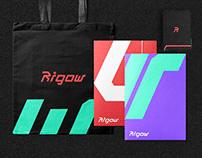 Rigow brand design.