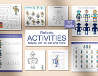 Robots Activities for kids
