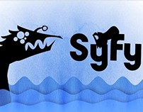 Syfy ID Silhouette Animation