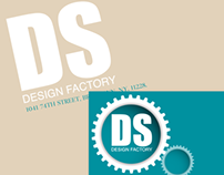 Branding of a graphic designer.