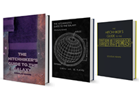 Book Jacket Redesign: The Hitchhiker's Guide