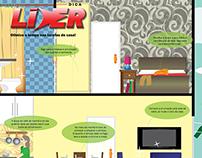 Ilustração Revista Líder 13ª Edição