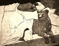 Animal in Bed