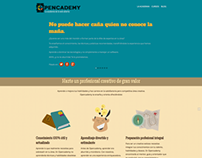 Sitio Web Opencademy