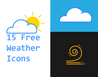15 Free Weather Vector Icons