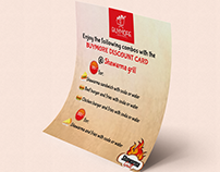 Shawarma Grill Simple flyer