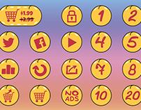 Makaka Icon Pack - Unity Asset