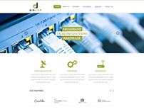 Diacom Website Design
