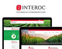 WEB DESIGN. Rediseño sitio INTEROC