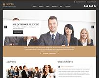 Sj Suits - Responsive Attorneys & Law Firms Theme
