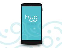 Hug app concept (2016)