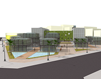 Urban Farming Plaza