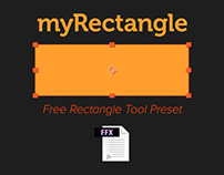 myRectangle - Free AE Preset