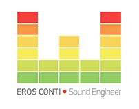 Eros Conti Sound Engineer - Logo